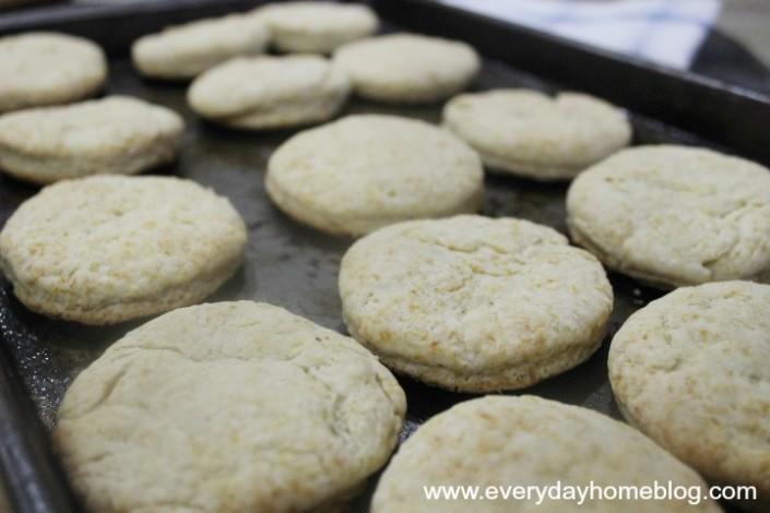 Ham-Biscuits-Pan