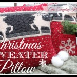 Christmas Sweater Pillows