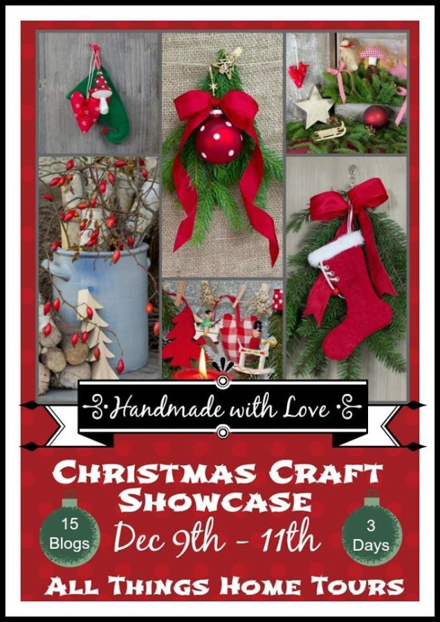 Homemade with Love Christmas Craft Showcase at The Everyday Home