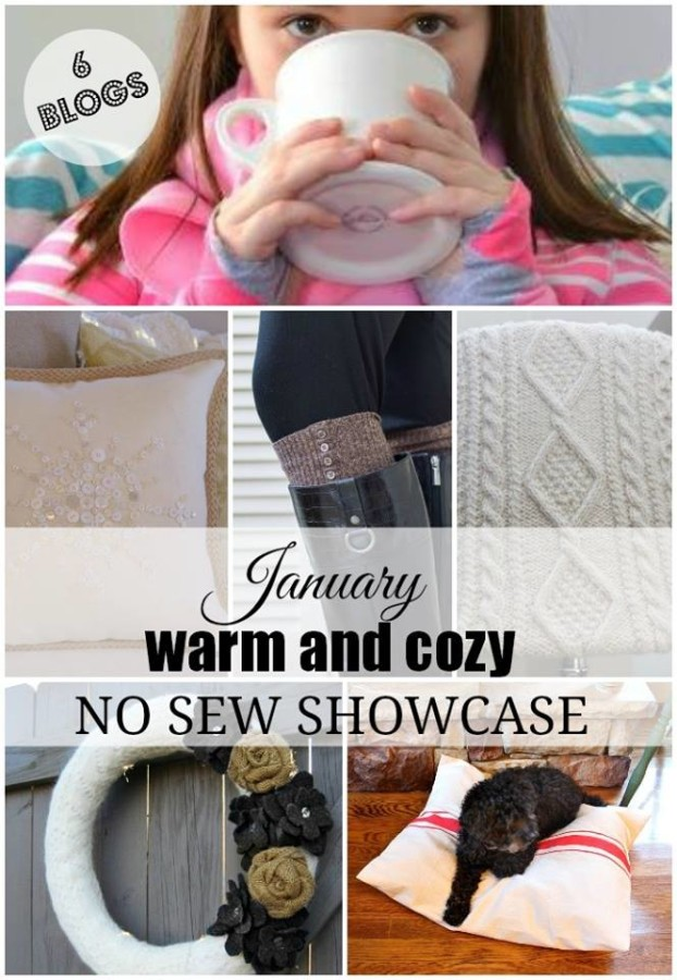 8 No-Sew Winter Projects at The Everyday Home