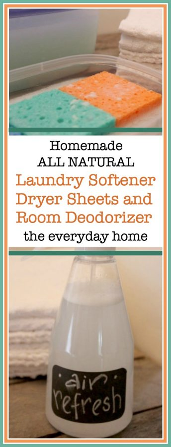 Homemade Natural Laundry Products and Room Spray | The Everyday Home