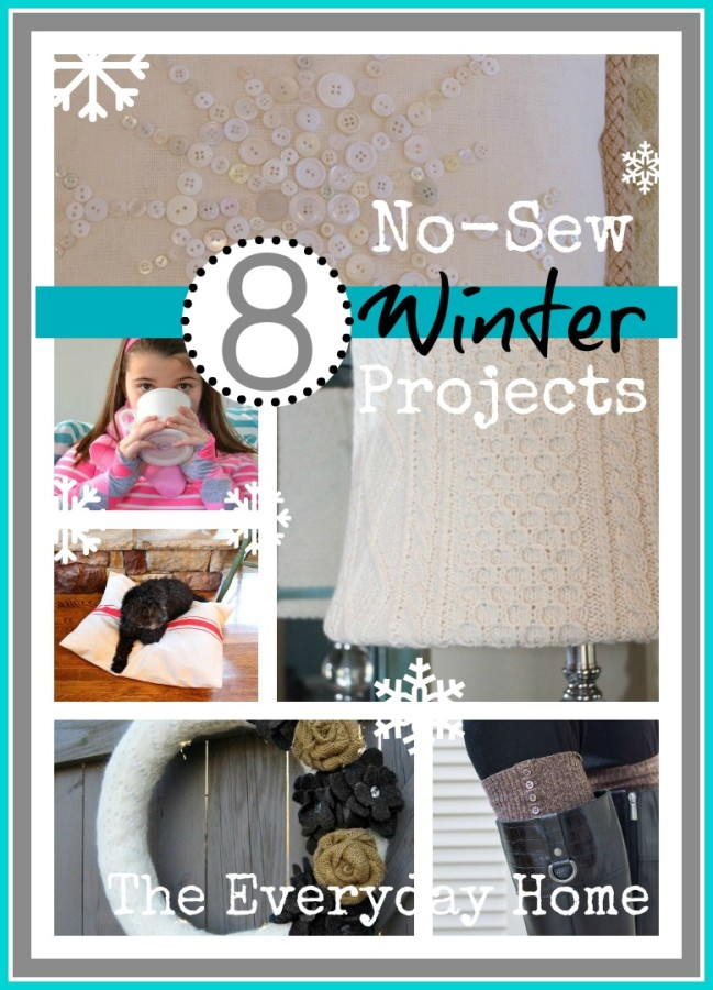 NoSew8ProjectsWinter