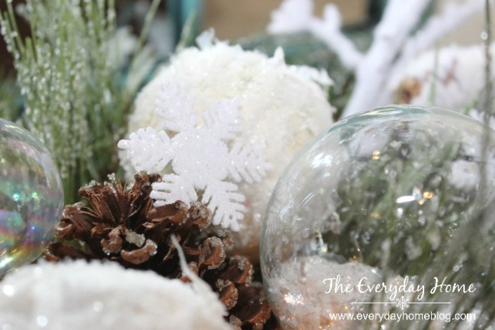 How to Make a Winter-time Snowflake Dough Bowl by The Everyday Home