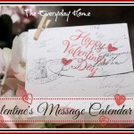 Valentine Message Calendar
