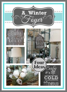 Four Winter DIY Projects