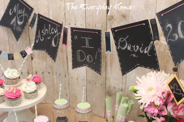 Relatively Easy and Budget-Friendly Bridal Shower Ideas - The Everyday Home RT68