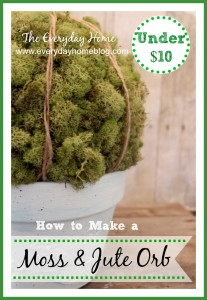 Easy Moss Covered Orb
