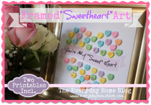 Sweetheart Candy Art and Printables