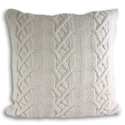 cableknit pillow