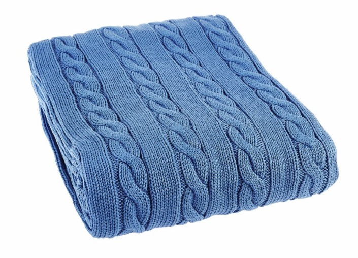 cableknit throws