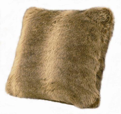 faux fur pillow