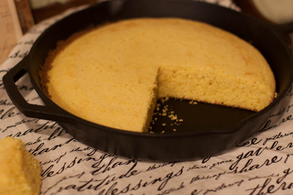 skillet-cornbread