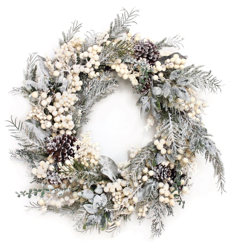 winter berry wreath
