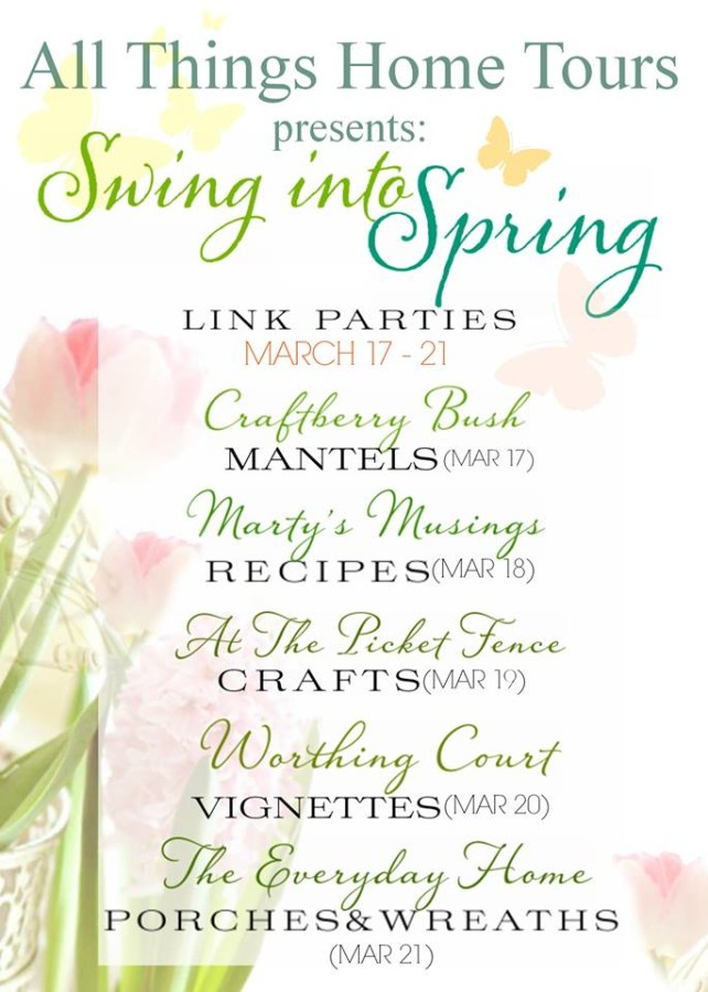 Swing Into Spring Link Parties at The Everyday Home #swingintospring