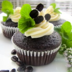 Fresh Mint Mocha Cupcakes