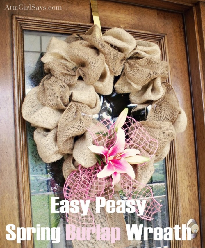 25 Fabulous Spring Craft Projects by The Everyday Home #spring #crafts #springcrafts #thinkspring