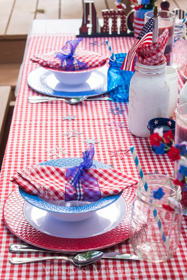 July 4th Party Ideas by The Everyday Home
