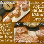 Banana Walnut Bread {gluten free}