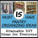 Pantry Organizing Ideas