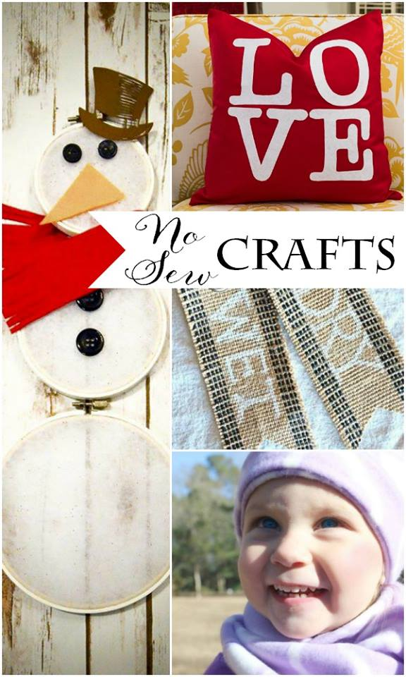 No Sew Winter Showcase at The Everyday Home #nosew #craft  #project #fashion #DIY #winter