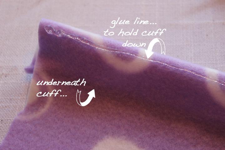 No-Sew-Hat-Glue-Cuff