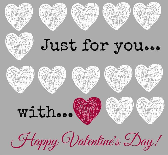 Valentine Printable by The Everyday Home