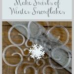 DIY Winter Snowflakes