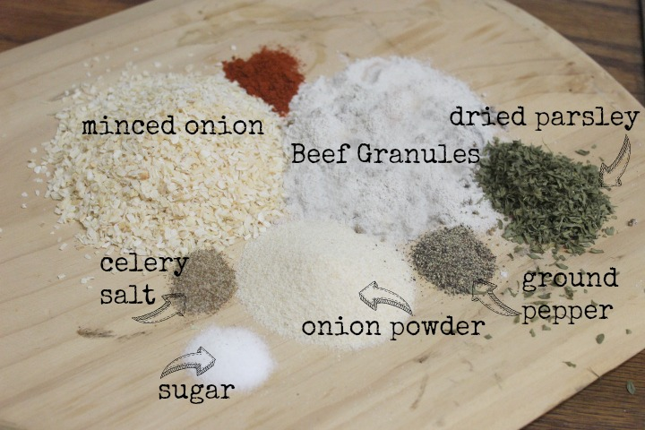 Homemade Onion Soup Mix by The Everyday Home #kitchenhack #homemade #DIY #recipe