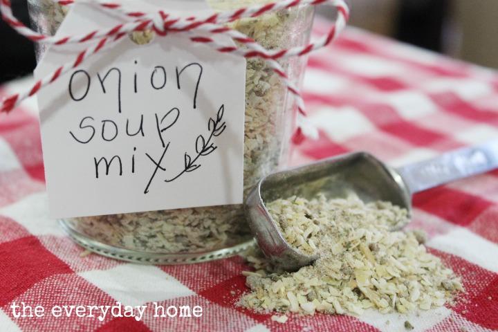 how to make onion soup mix veggies