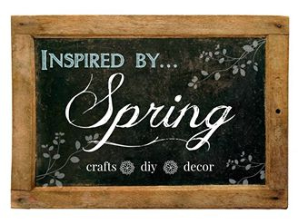 Inspired by Spring at The Everyday Home Blog