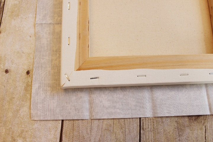 How to Make a No Sew Fabric Covered Memory Board by The Everyday Home