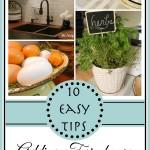10 Easy Farmhouse Style Tips