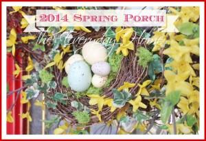Spring Porch Ideas at The Everyday Home Blog / www.everydayhomeblog.com