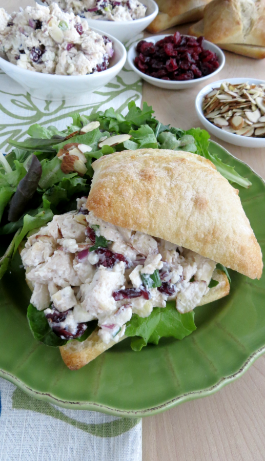 Deli Style Chicken Salad Recipe by The Everyday Home / www.everydayhomeblog.com #Recipes #Homemade