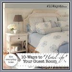 "10 Ways to ""Hotel-ify"" Your Guest Room"