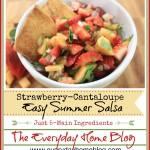 Strawberry-Cantaloupe Salsa