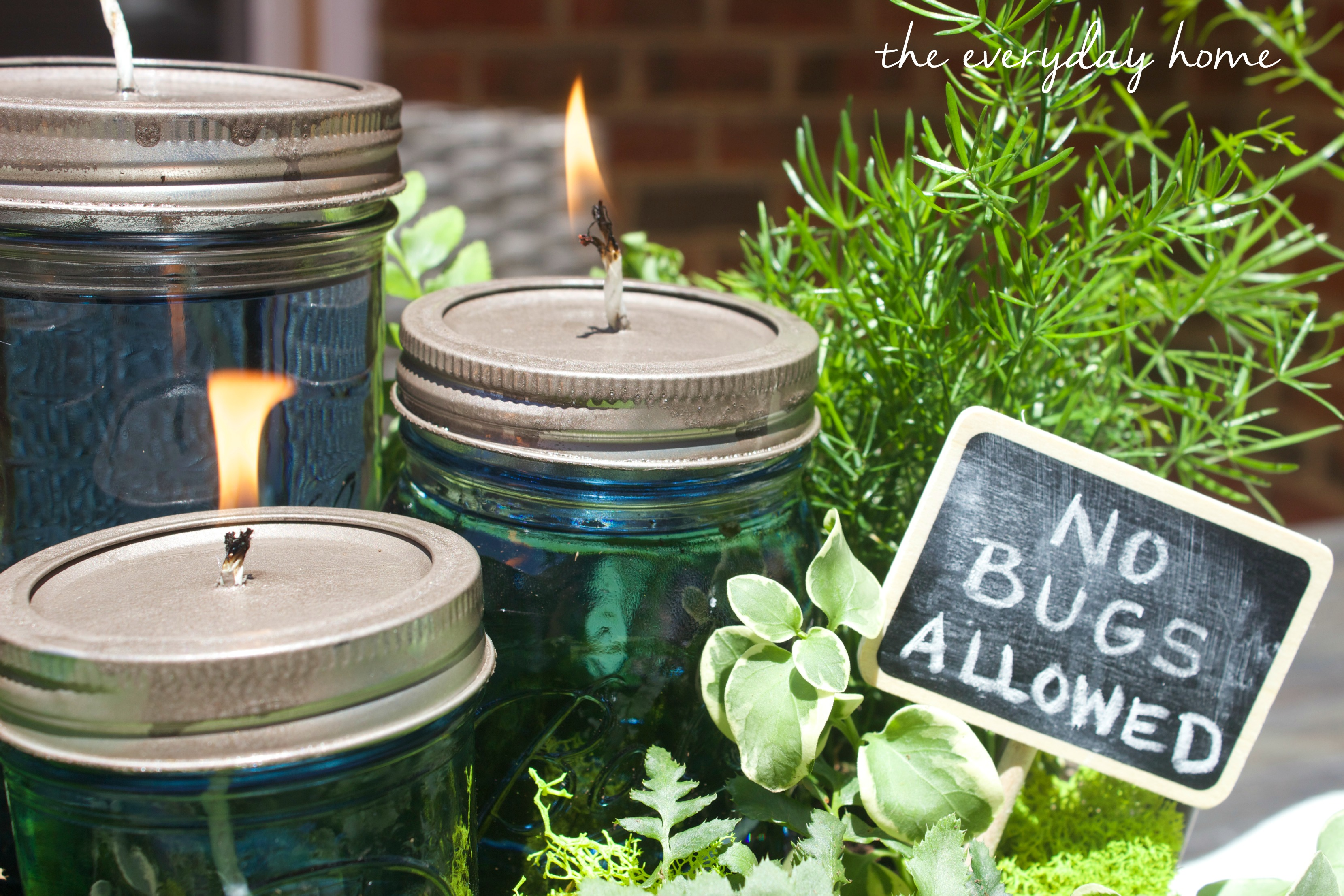 DIY Citronella Mason Jar Candles   The Everyday Home Blog  www.everydayhomeblog.com (1)