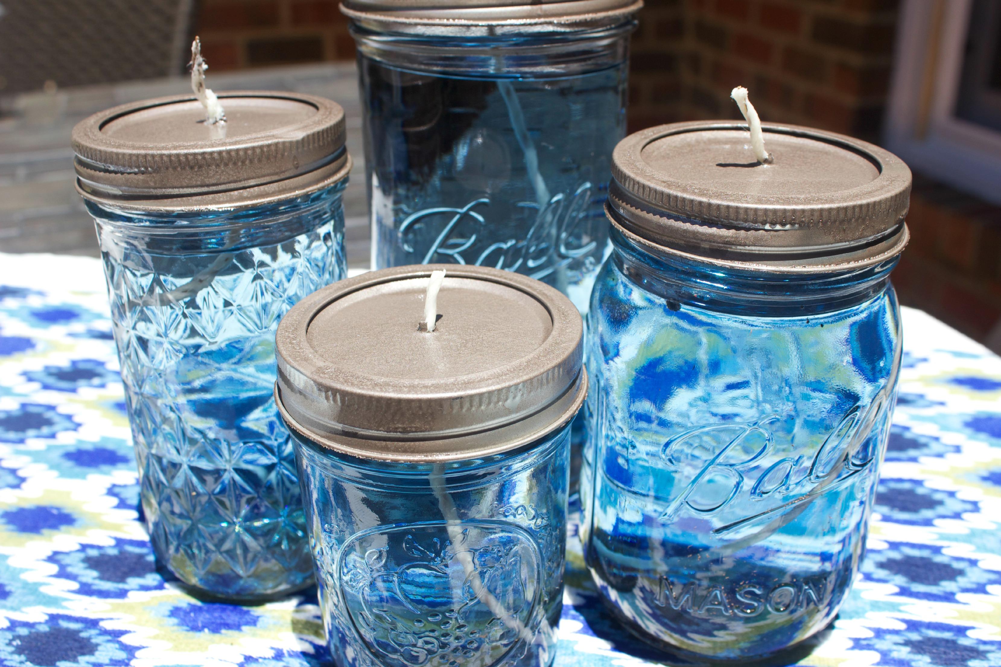 DIY Citronella Mason Jar Candles The Everyday Home Blog www.everydayhomeblog.com (14)