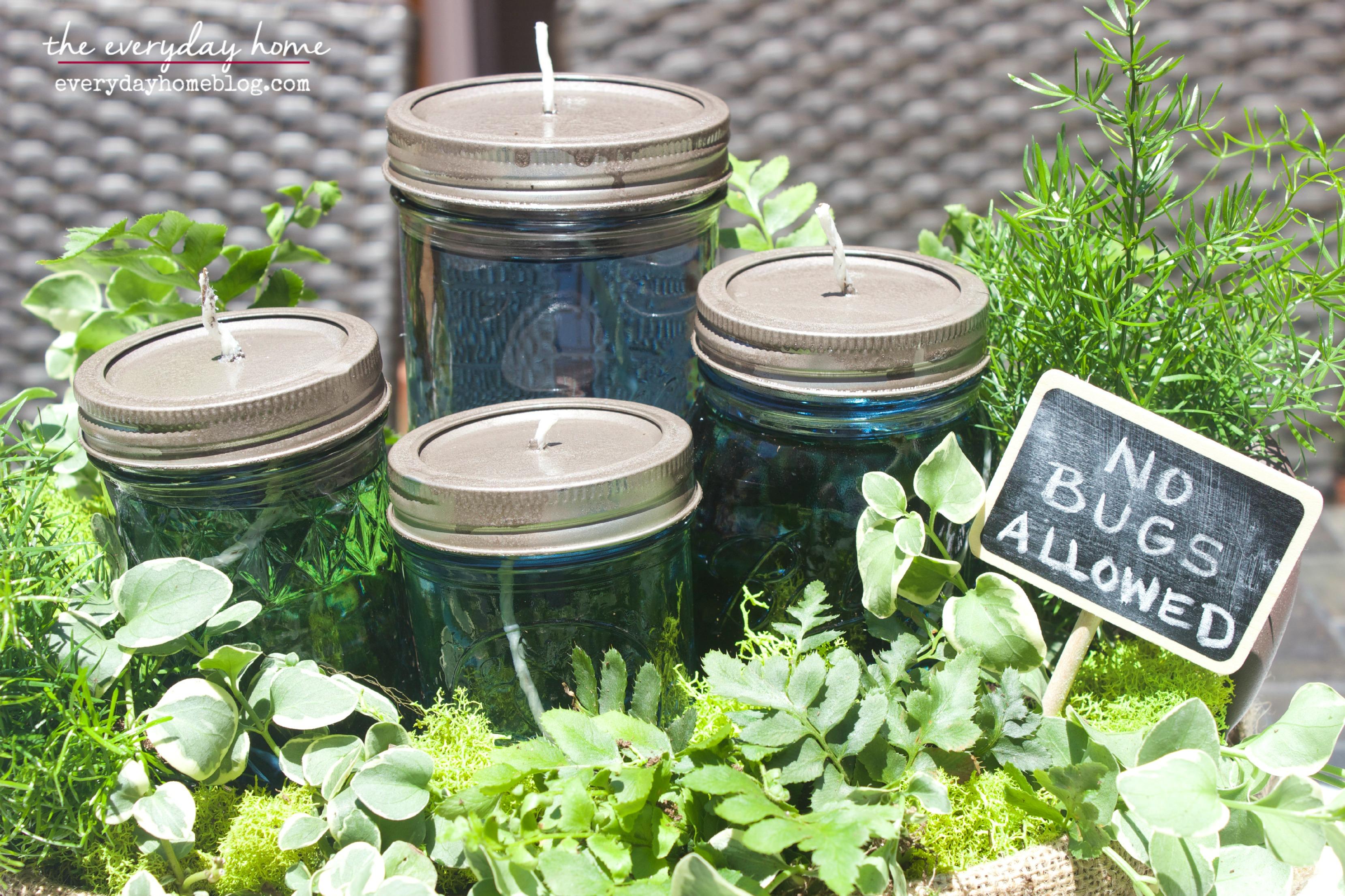 DIY Citronella Mason Jar Candles The Everyday Home Blog www.everydayhomeblog.com (21)