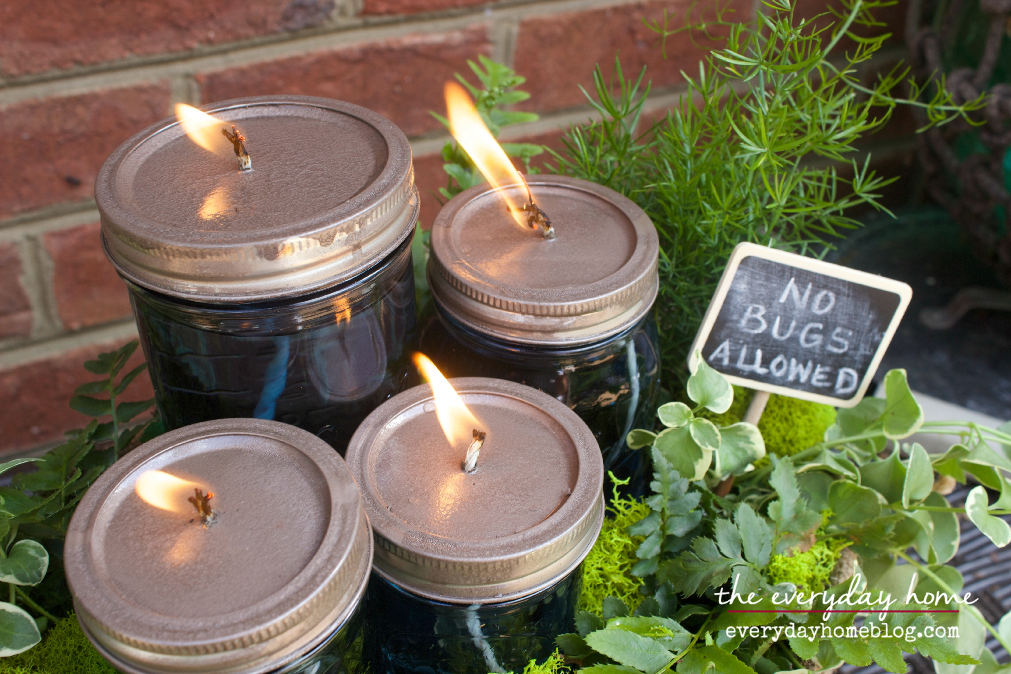 DIY Citronella Mason Jar Candles The Everyday Home Blog www.everydayhomeblog.com (25)