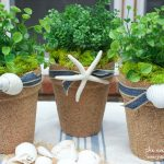 How to Make Sand Covered Pots