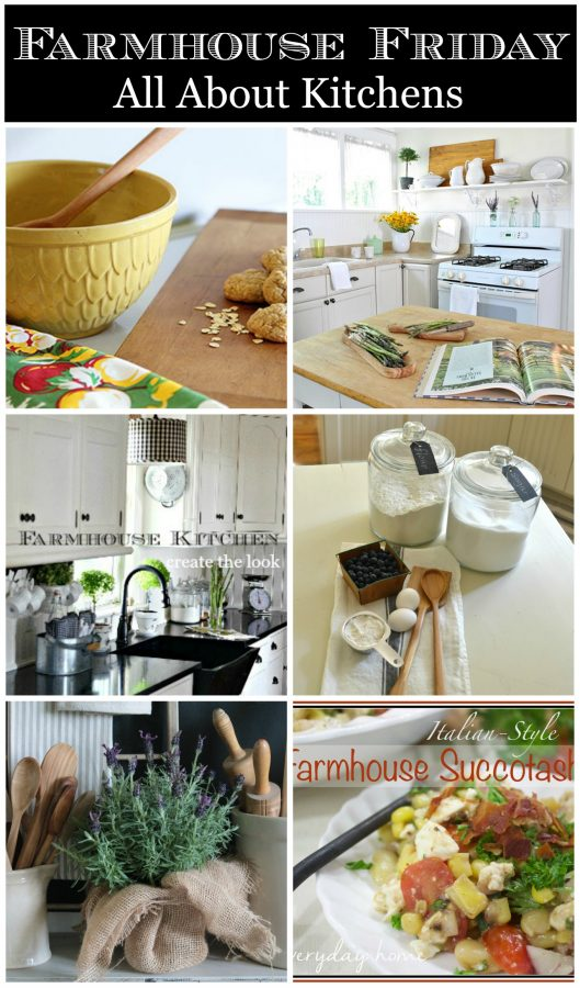 FARMHOUSE FRIDAY-ALL ABOUT KITCHENS