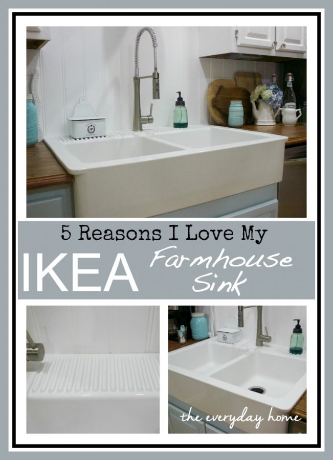 apron kitchen sink ikea ikea farmhouse sink the everyday home 4171