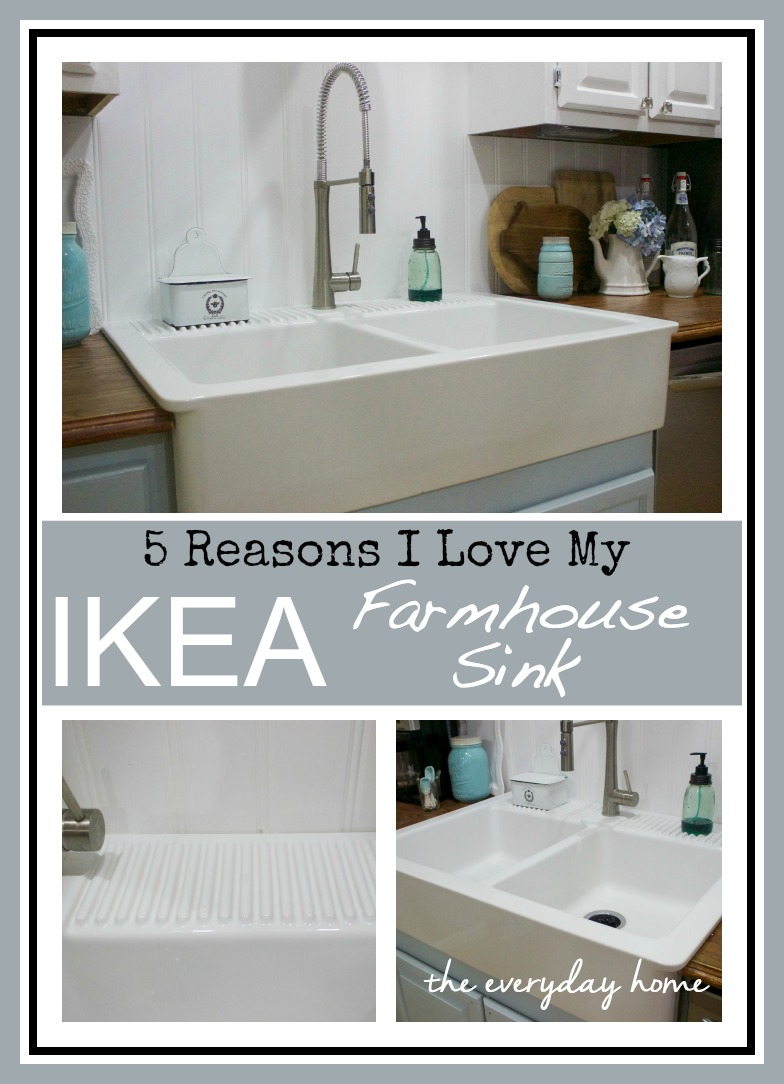Ikea Farmhouse Sink : IKEA Farmhouse Sink - The Everyday Home