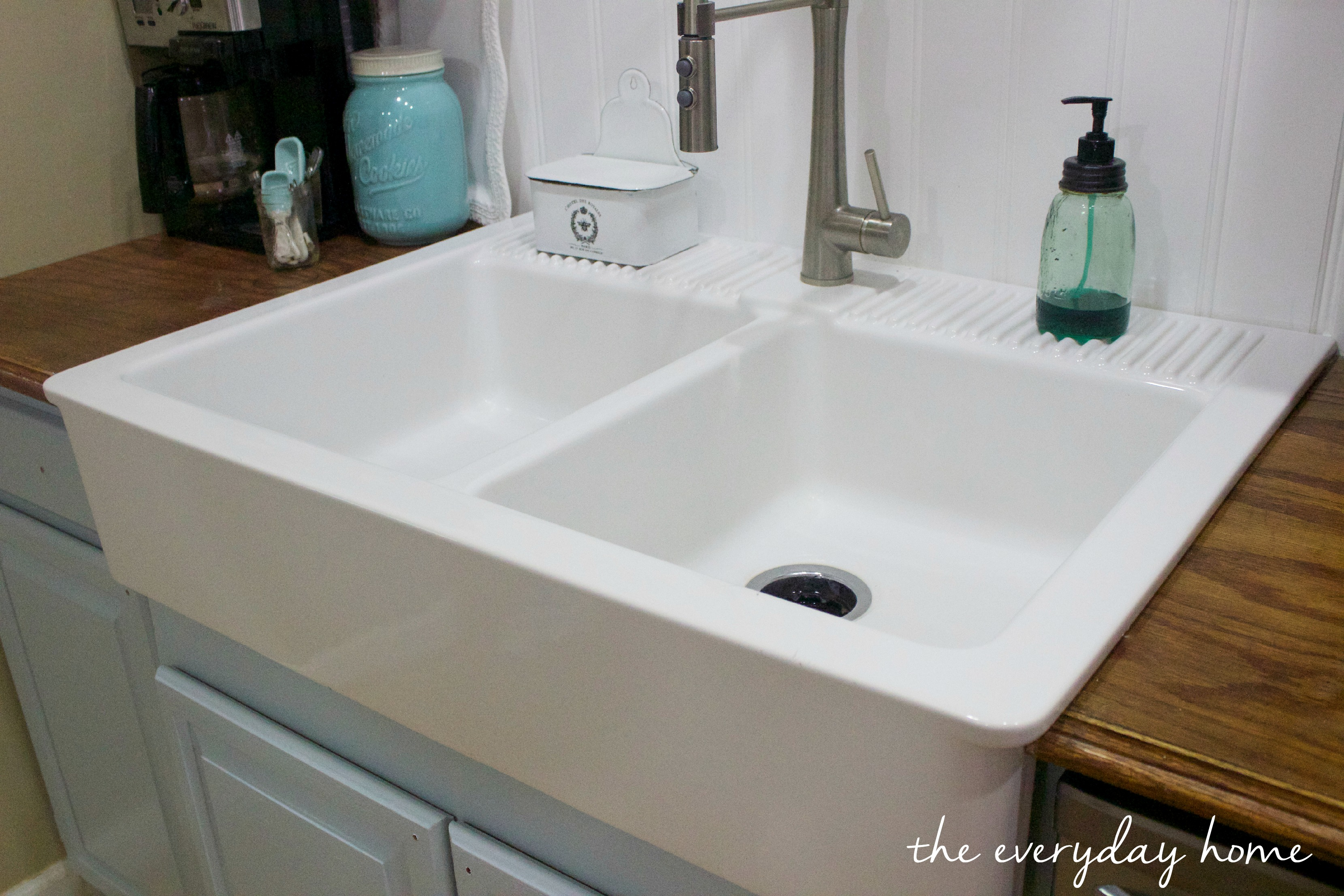 Ikea Farmhouse Sink : IKEA-Farmhouse-Sink The Everyday Home www.evevrydayhomeblog.com (2)