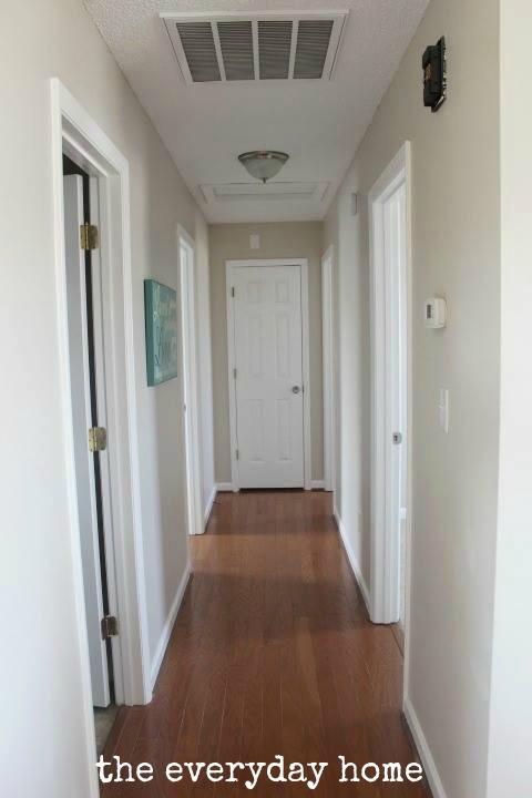 Before & After / A Flip House Tour / The Everyday Home / www.everydayhomeblog.com