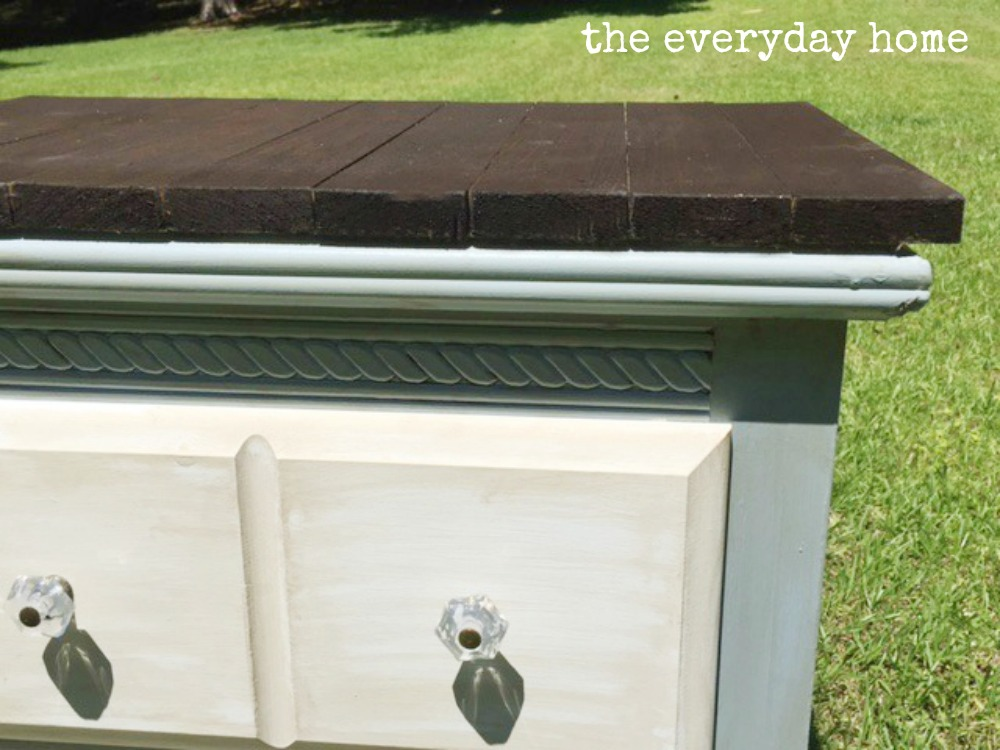 Bedside Table Makeover by The Everyday Home | www.everydayhomeblog.com_
