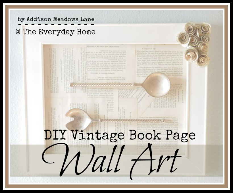 DIY Wall Art | The Everyday Home | www.everydayhomeblog.com