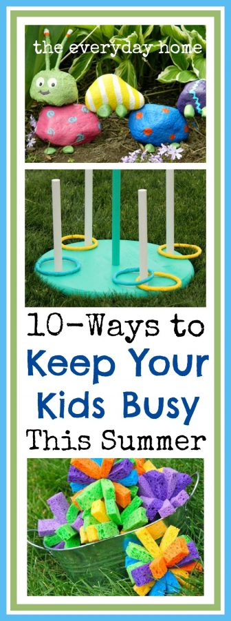 How to Keep Your Kids Busy This Summer at The Everyday Home  www.everydayhomeblog.com
