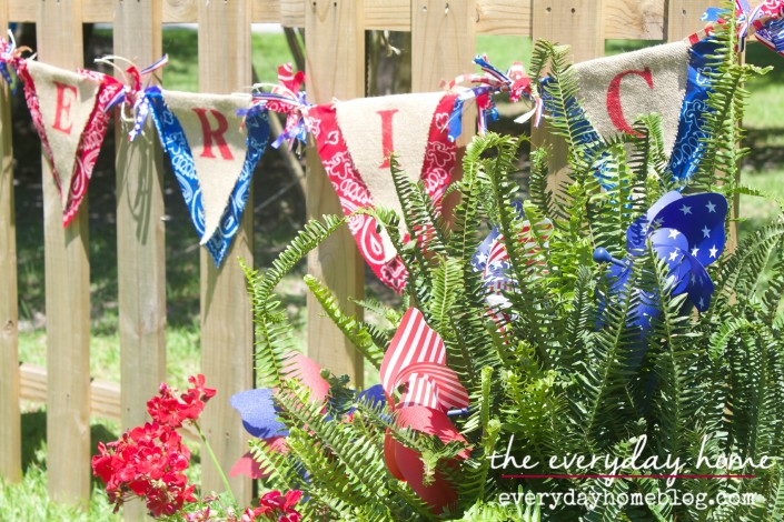 July 4th Banner  The Everyday Home  www.everydayhomeblog.com